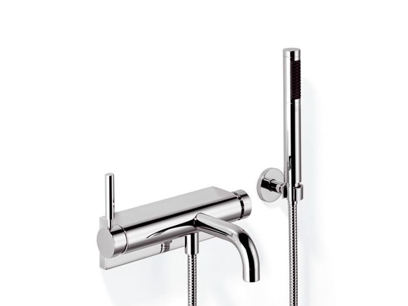 Single handle bathtub mixer with hand shower TARA.LOGIC | Single handle bathtub mixer - Dornbracht