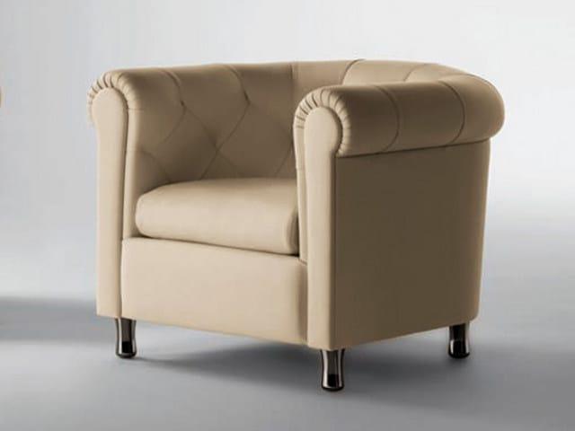Tufted armchair ARCADIA | Armchair - Poltrona Frau