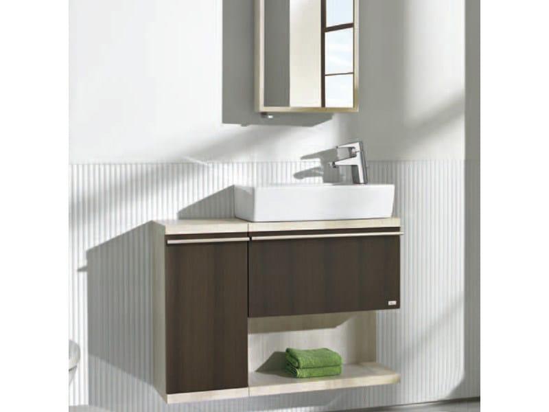 Hall meuble sous vasque by roca design ram n benedito for Meuble vasque roca