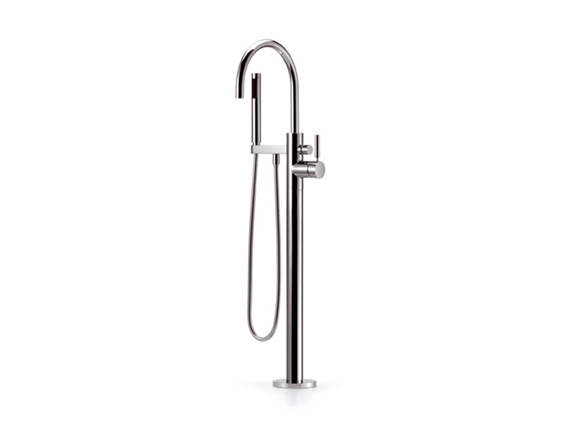 Floor standing single handle bathtub mixer TARA.LOGIC | Floor standing bathtub mixer - Dornbracht