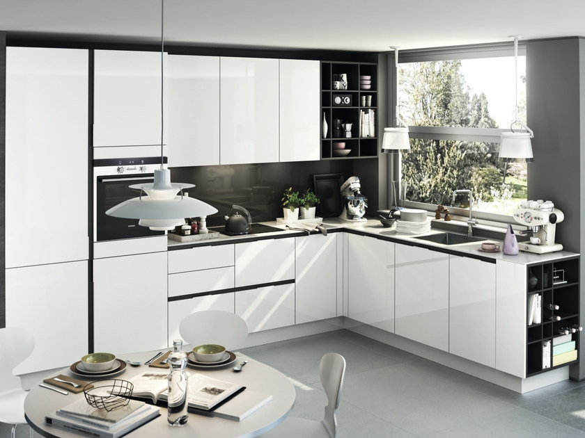 s3 cucina con maniglie integrate by siematic. Black Bedroom Furniture Sets. Home Design Ideas
