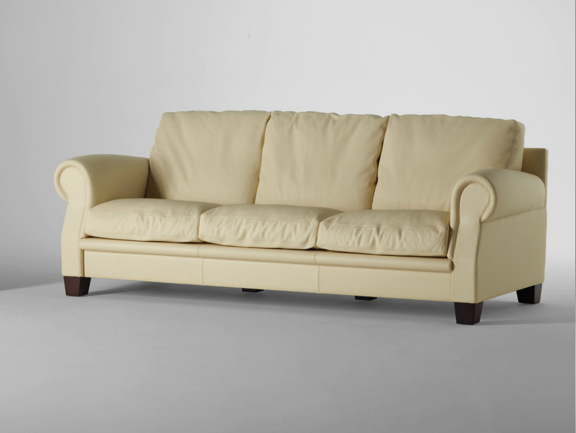 3 seater leather sofa AUSTEN | 3 seater sofa - Poltrona Frau
