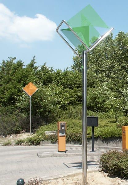 Metal street lamp BRUXELLES - Thierry Vidé design