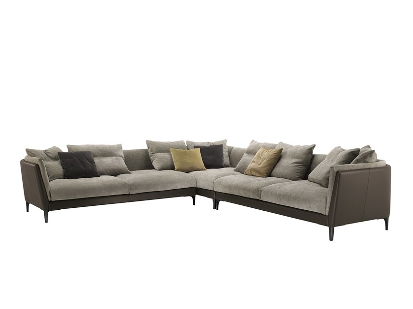 Sectional modular sofa BRETAGNE | Sectional sofa - Poltrona Frau