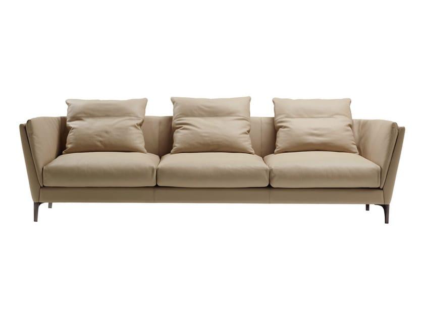 3 seater leather sofa BRETAGNE | 3 seater sofa by Poltrona Frau