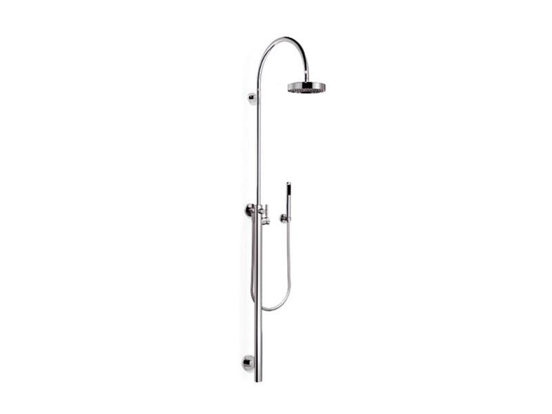 Shower panel with hand shower TARA.LOGIC | Shower panel with hand shower - Dornbracht