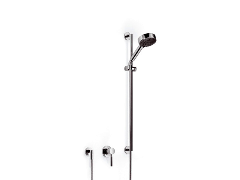 Shower panel with hand shower TARA.LOGIC | Shower panel - Dornbracht