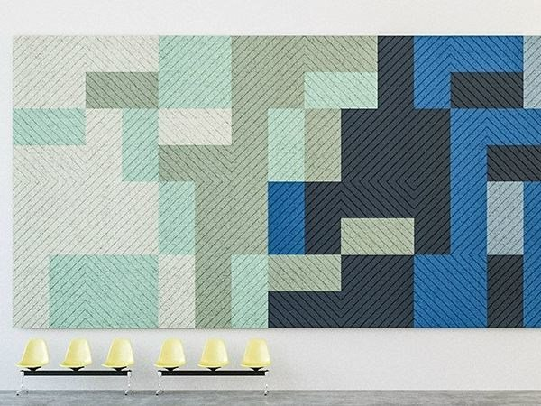 Acoustic Wood Wool Panels BAUX ACOUSTIC PANEL DIAGONAL - BAUX