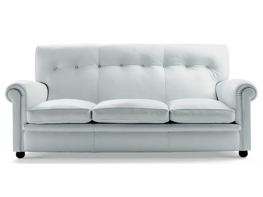 3 seater leather sofa EDOARDO | 3 seater sofa - Poltrona Frau