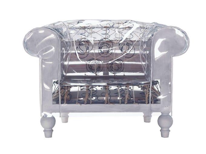PVC armchair GHOSTFIELD | Armchair - Poltrona Frau