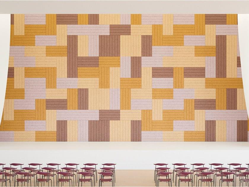 Acoustic Wood Wool Panels BAUX ACOUSTIC PANEL LINES by BAUX
