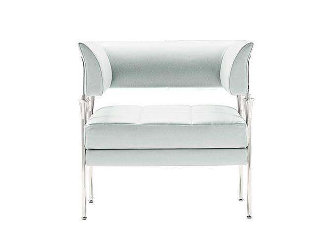 Leather armchair HYSRACASTOR | Armchair - Poltrona Frau
