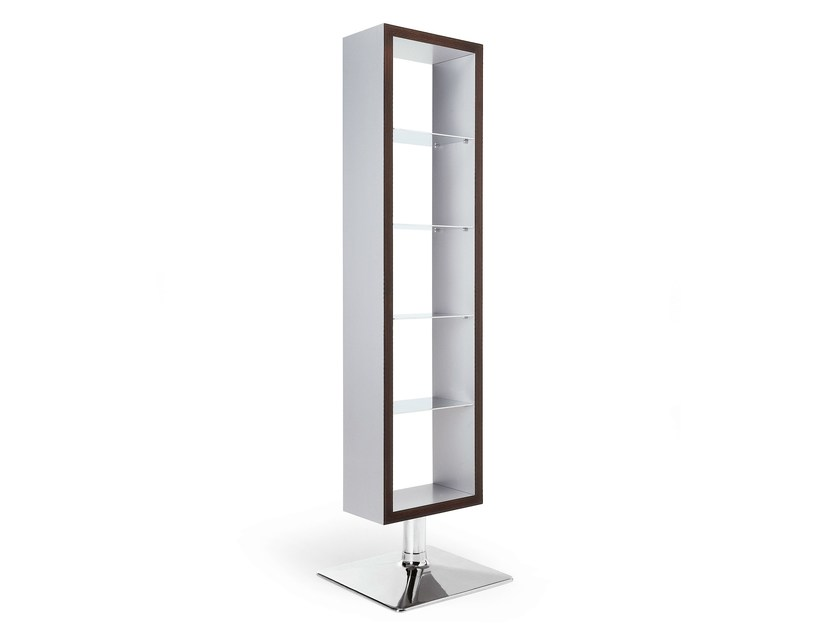 Open freestanding double-sided bookcase DISPLAY - OUTSIDER