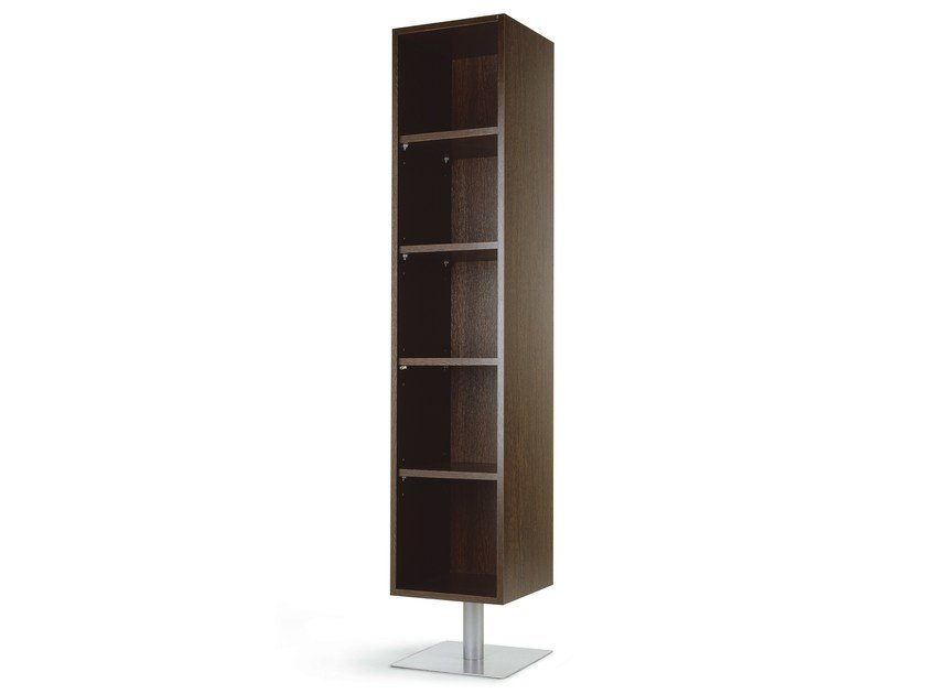 Freestanding melamine bookcase CLEO GIORNO by OUTSIDER