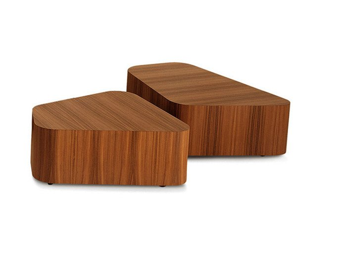 Walnut coffee table KENNEDEE | Coffee table - Poltrona Frau