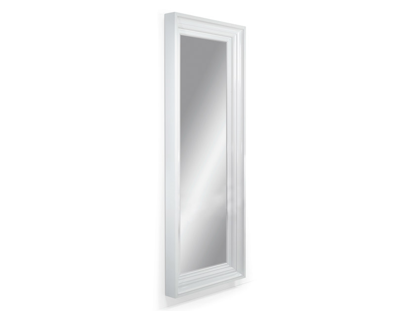 Rectangular wall-mounted framed mirror JEROBOAM - OUTSIDER