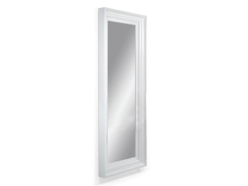 Rectangular wall-mounted framed mirror JEROBOAM - OUTSIDER