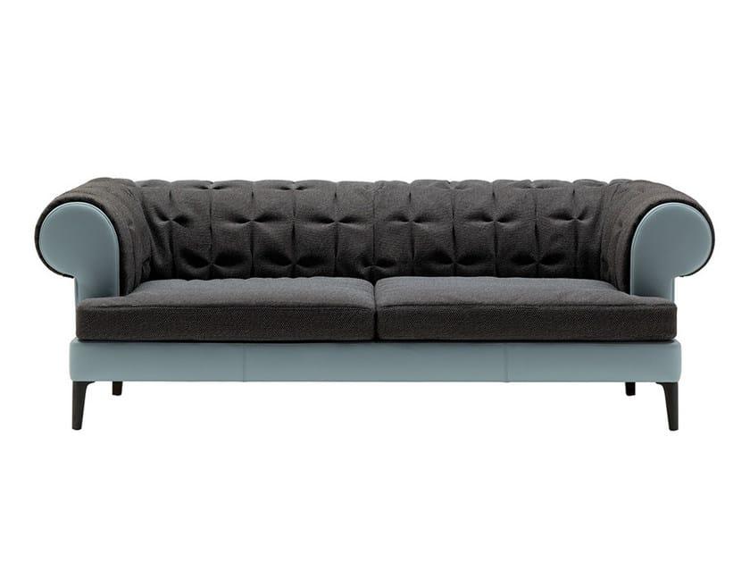 2 seater fabric sofa MANTO' | Fabric sofa by Poltrona Frau