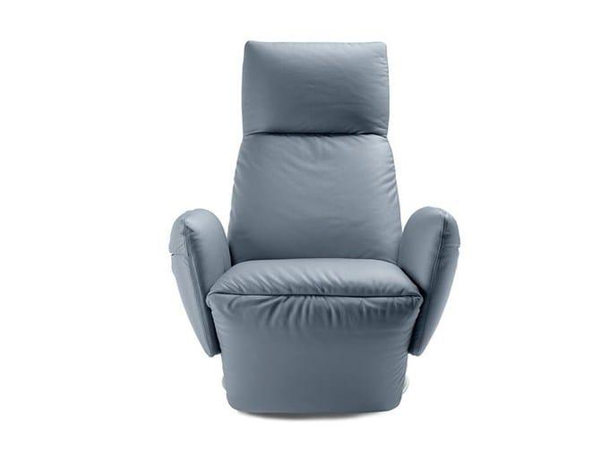 Relaxing armchair PILLOW - Poltrona Frau