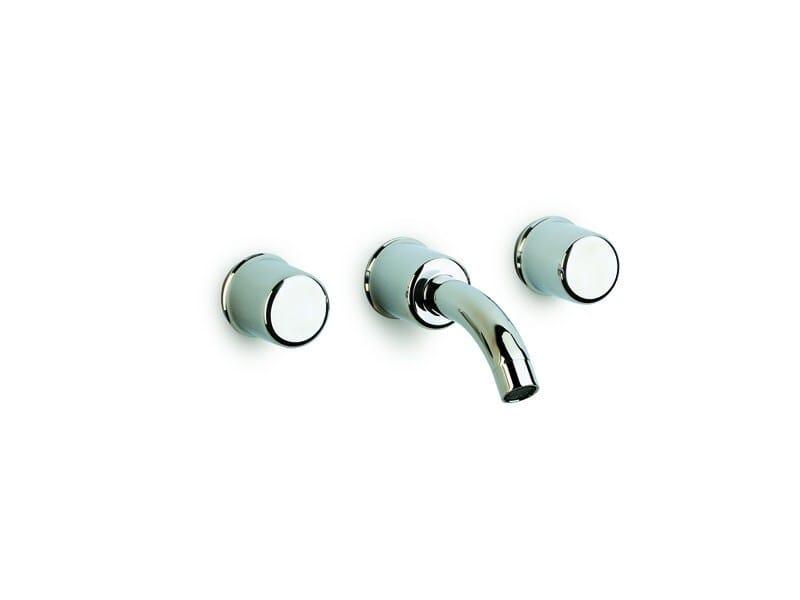 3 hole wall-mounted washbasin mixer ATAI | 3 hole washbasin mixer - ROCA SANITARIO