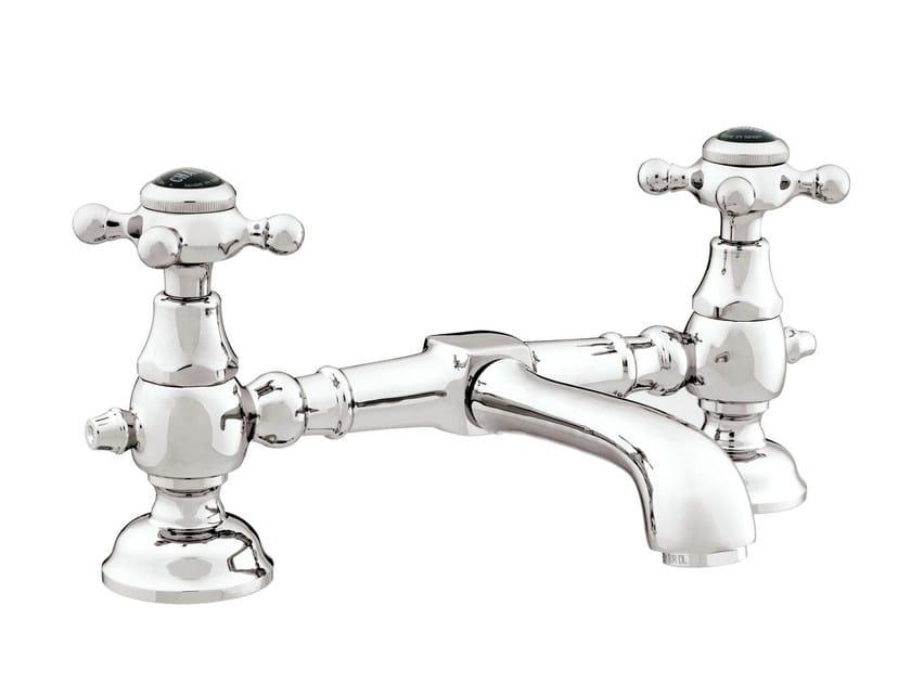 Chrome-plated 1 hole washbasin tap with polished finishing 035008.N00.50 | Washbasin tap - Bronces Mestre