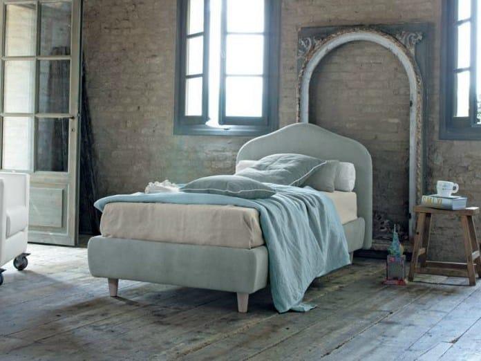 Fabric single bed MEDEA by Twils