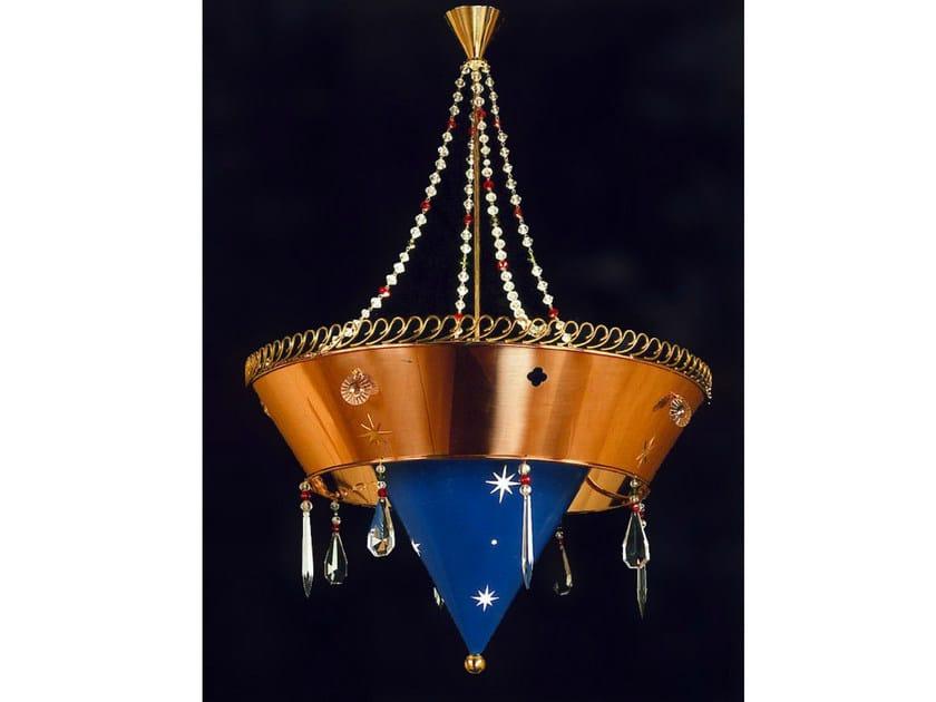 Bronze chandelier 14775 | Chandelier - Tisserant