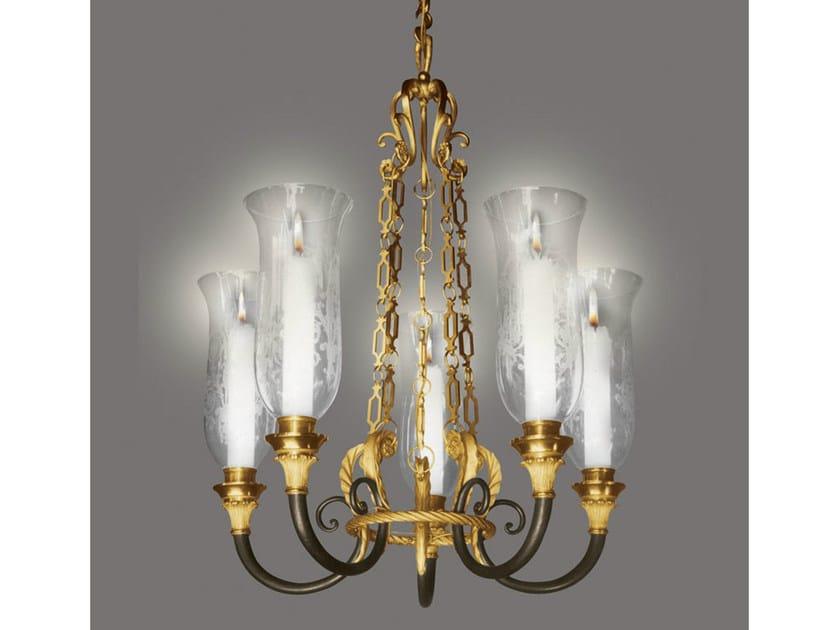 Bronze chandelier 14742   Chandelier - Tisserant