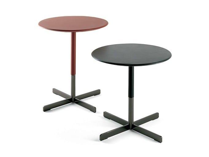 Round coffee table BOB | Coffee table by Poltrona Frau