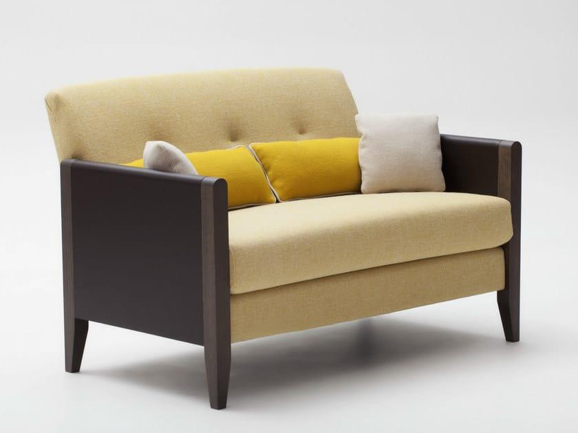 2 seater fabric sofa RESIDENT | Sofa - Adentro
