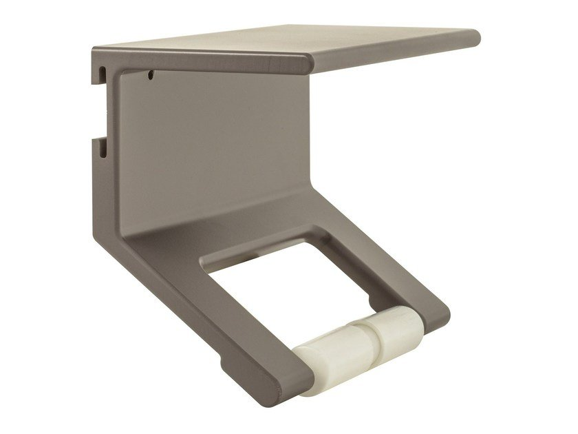 Aluminium toilet roll holder LISSOM | Toilet roll holder by EVER Life Design