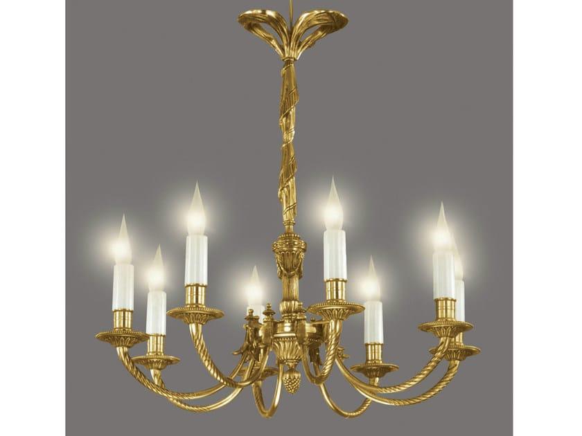 Bronze chandelier 16101 | Chandelier - Tisserant
