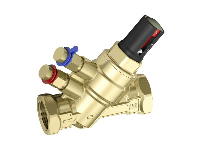 Pressure-independent dynamic balancing valves PICV by I.V.A.R.
