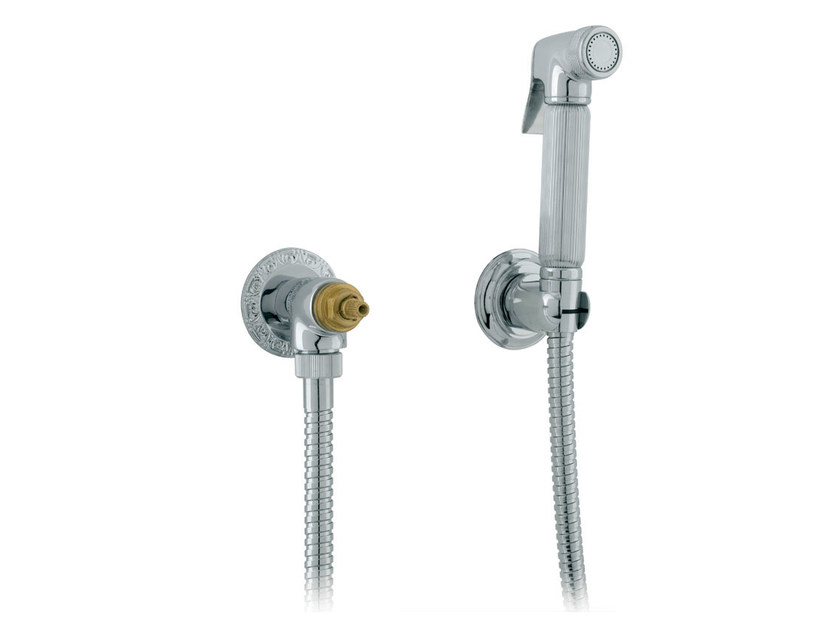 Chrome-plated handshower with bracket 046029.000.50 | Handshower by Bronces Mestre