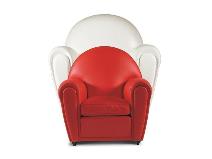 Kids armchair BABY VANITY FAIR by Poltrona Frau
