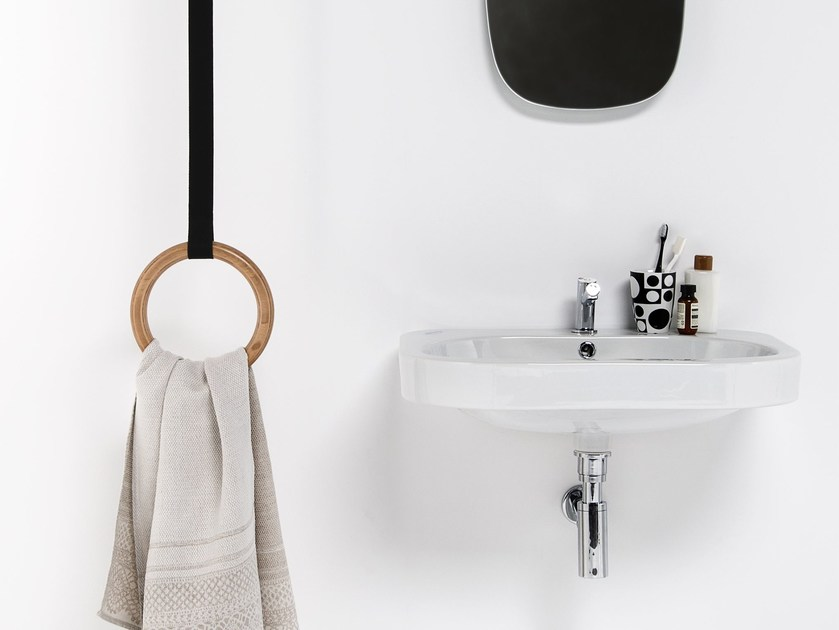 Ceiling mounted towel ring GAMBOL | Towel ring - EVER by Thermomat Saniline