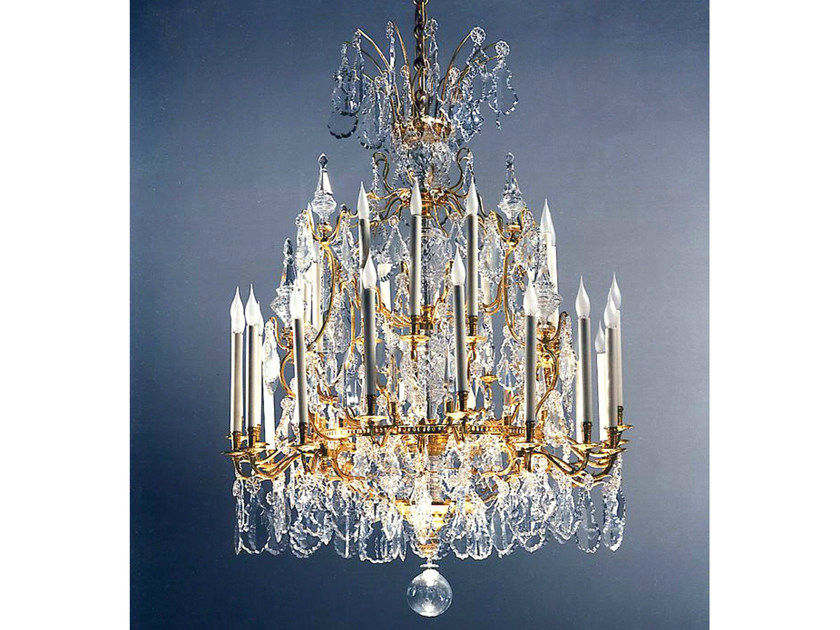 Classic style bronze chandelier 19618   Chandelier - Tisserant