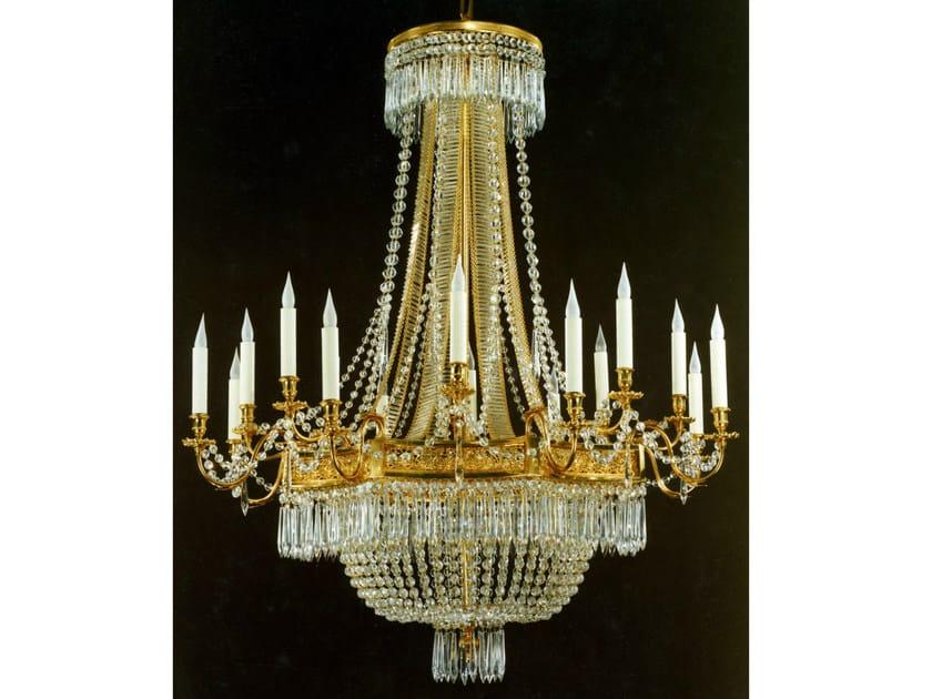 Crystal chandelier 19850   Chandelier by Tisserant