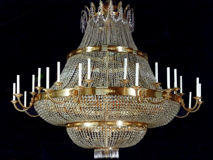 Crystal chandelier 19600 | Chandelier by Tisserant