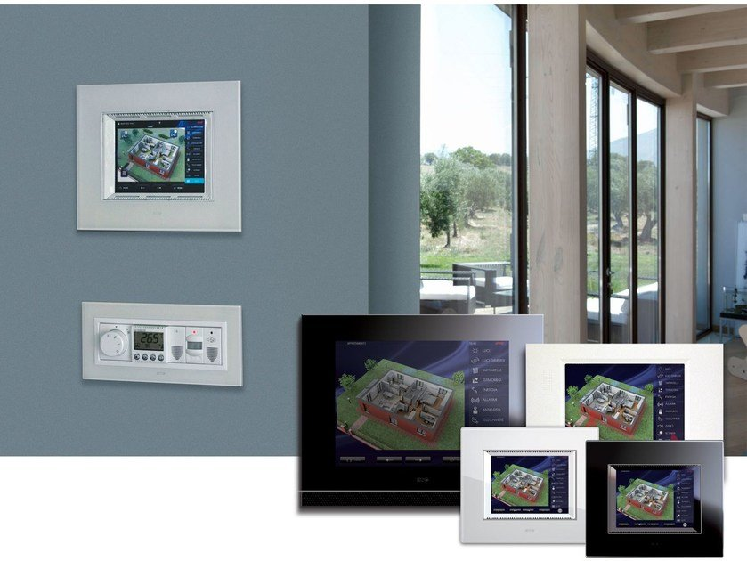 Home automation system DOMINAplus | Touch Screen - AVE