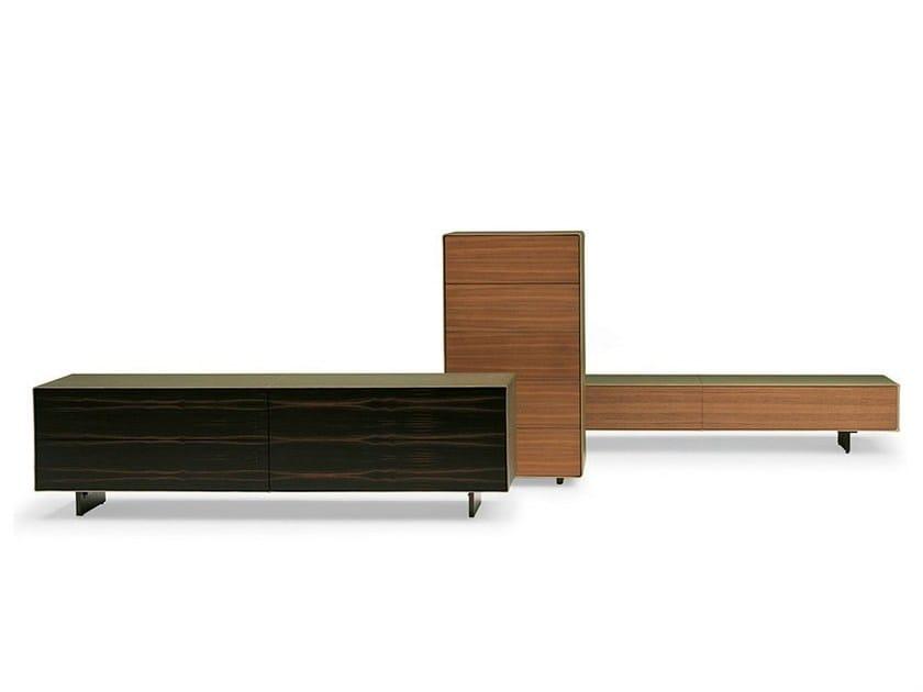 Wooden sideboard VITRUVIO - Poltrona Frau