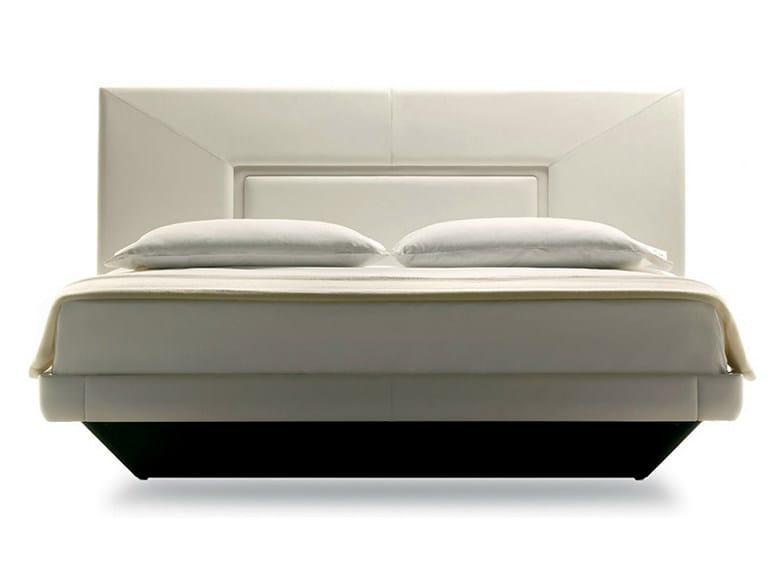 Double bed AURORA UNO by Poltrona Frau