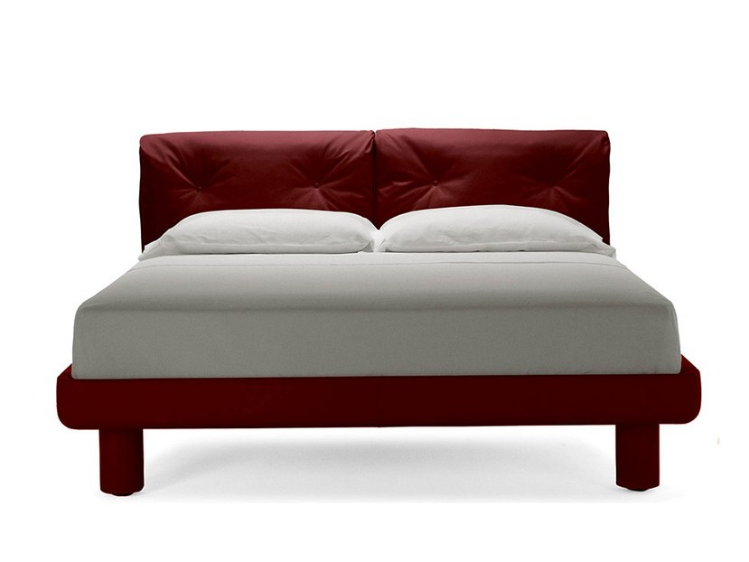 Double bed I RONDO' by Poltrona Frau