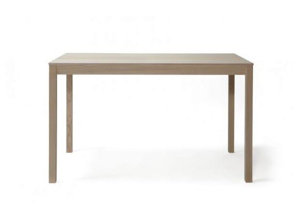Rectangular wooden table SKANDINAVIA KVP12 - Nikari