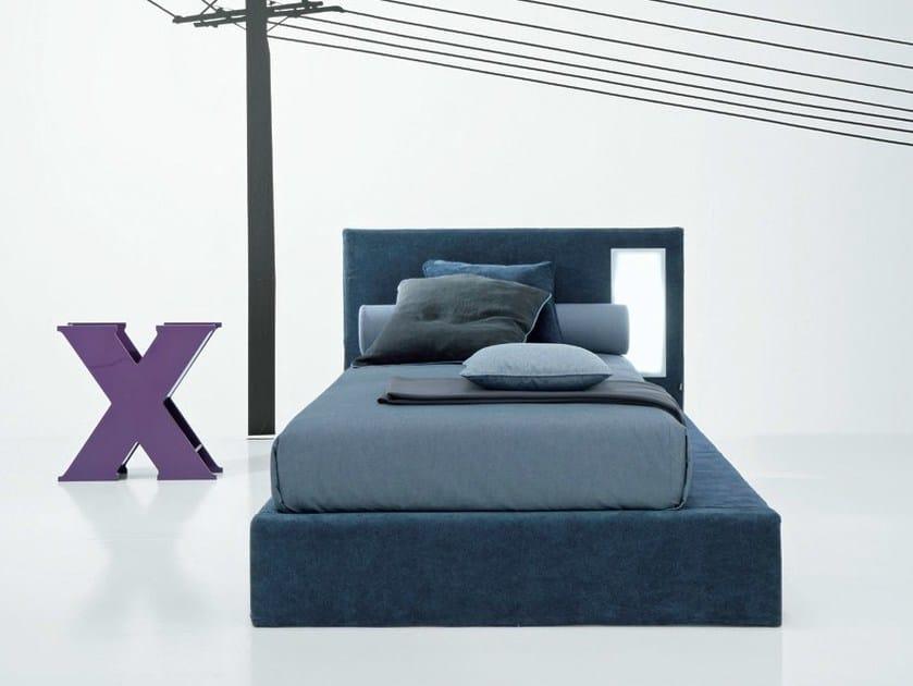 Trundle fabric single bed SKETCH - Twils