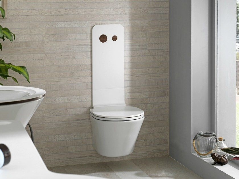 Wall-hung ceramic toilet MOOD | Toilet by Noken