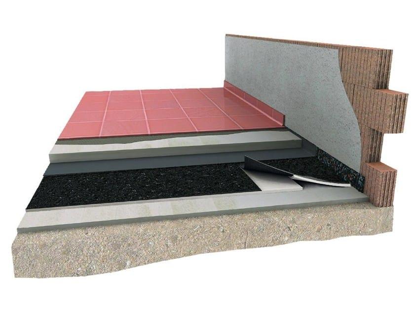 Impact insulation system Pavigran estra 3d - Lape HD