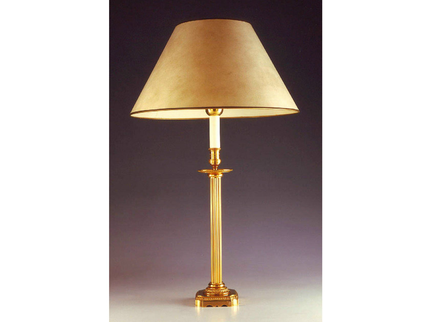 Bronze table lamp 226 | Table lamp - Tisserant