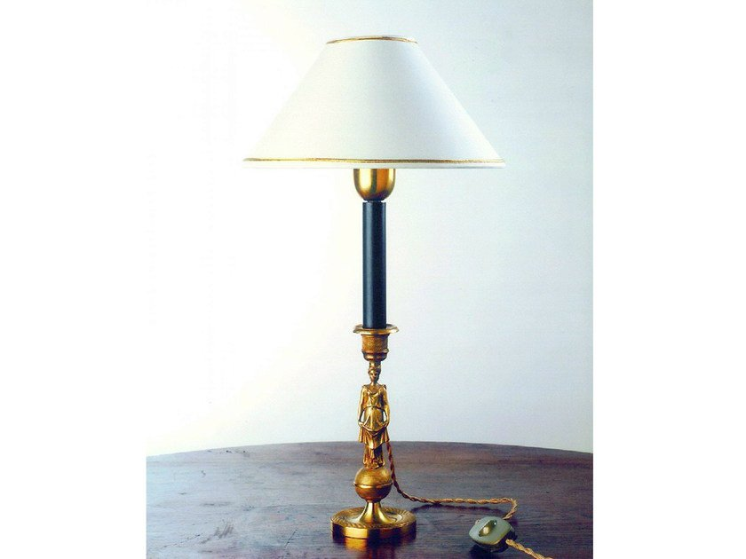 Bronze table lamp 350 | Table lamp by Tisserant