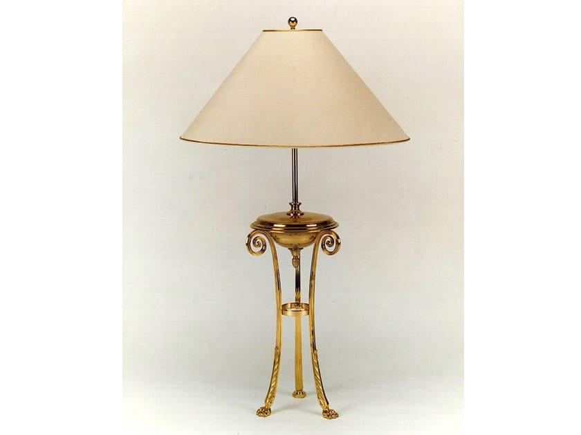 Bronze table lamp 250 | Table lamp - Tisserant